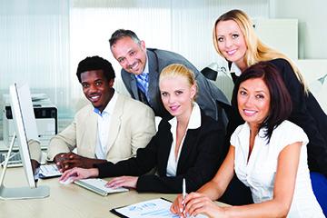 Photo of emerging leaders.